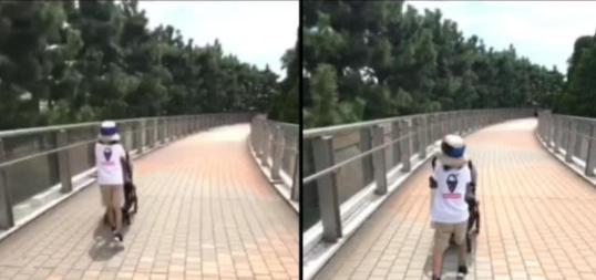 孙俪晒女儿推车奔跑 4岁小花的速度娘娘有点跟不上