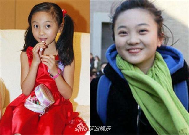 林妙可,在2008年北京奥运会开幕式上一举成名.但是如今的林妙可