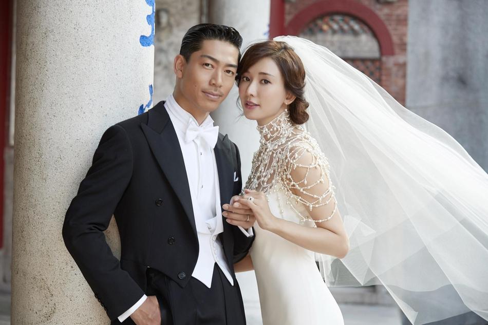 世纪婚礼!台湾第一美女明星林志玲与AKIRA...