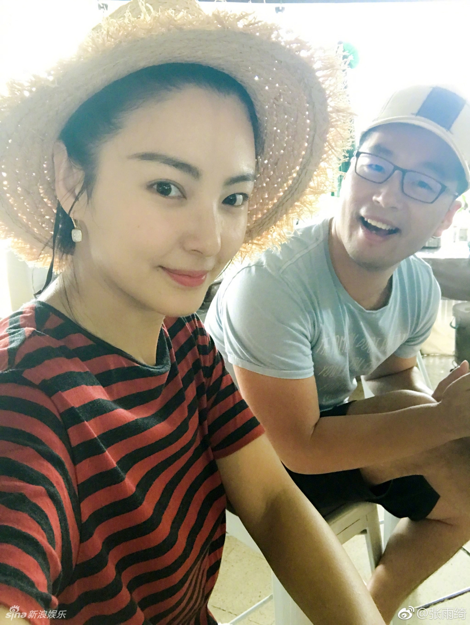 张雨绮与老公海滩秀恩爱 一张照片遭疑怀孕
