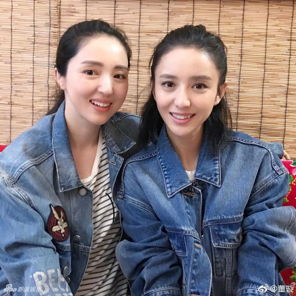 高清套图:佟丽娅董璇同框 好姐妹撞脸又撞衫