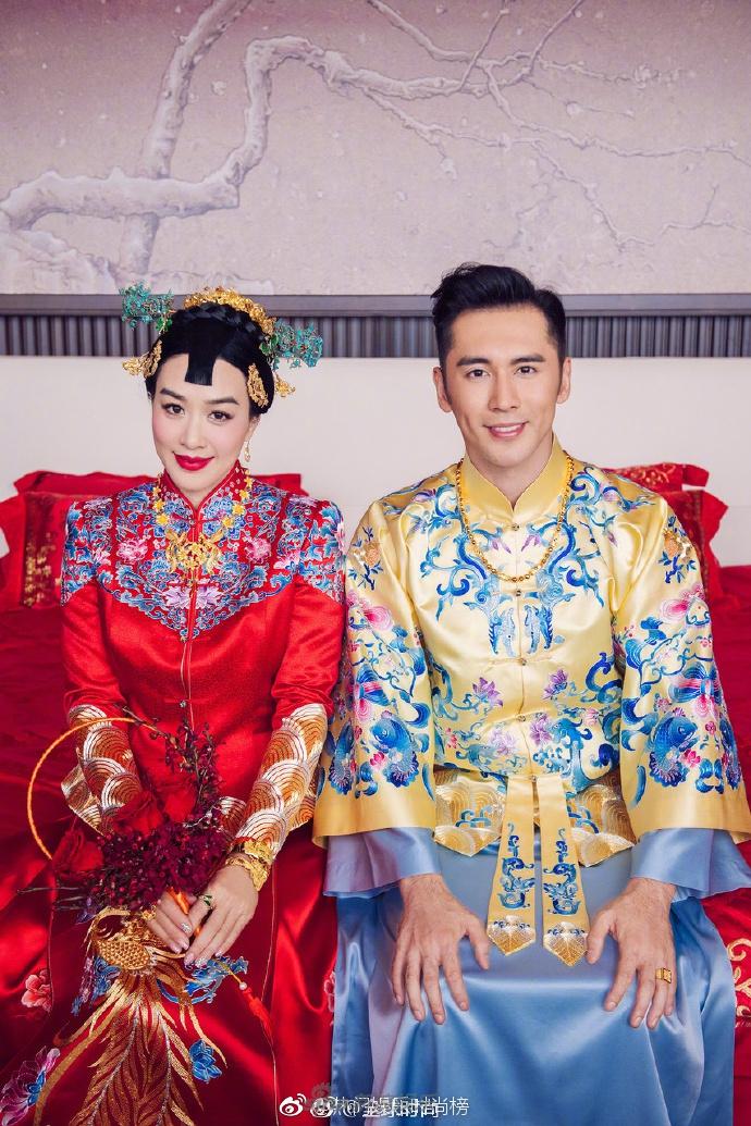 尤其是中式婚纱更是多,黄晓明baby,刘诗诗吴奇垄陈晓陈妍希,郭富城图片