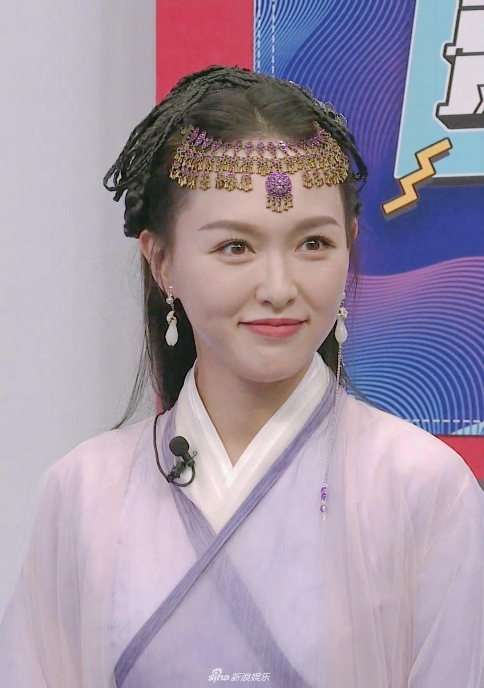 组图:唐嫣时隔11年再扮仙剑3紫萱 冻龄美貌毫无变化