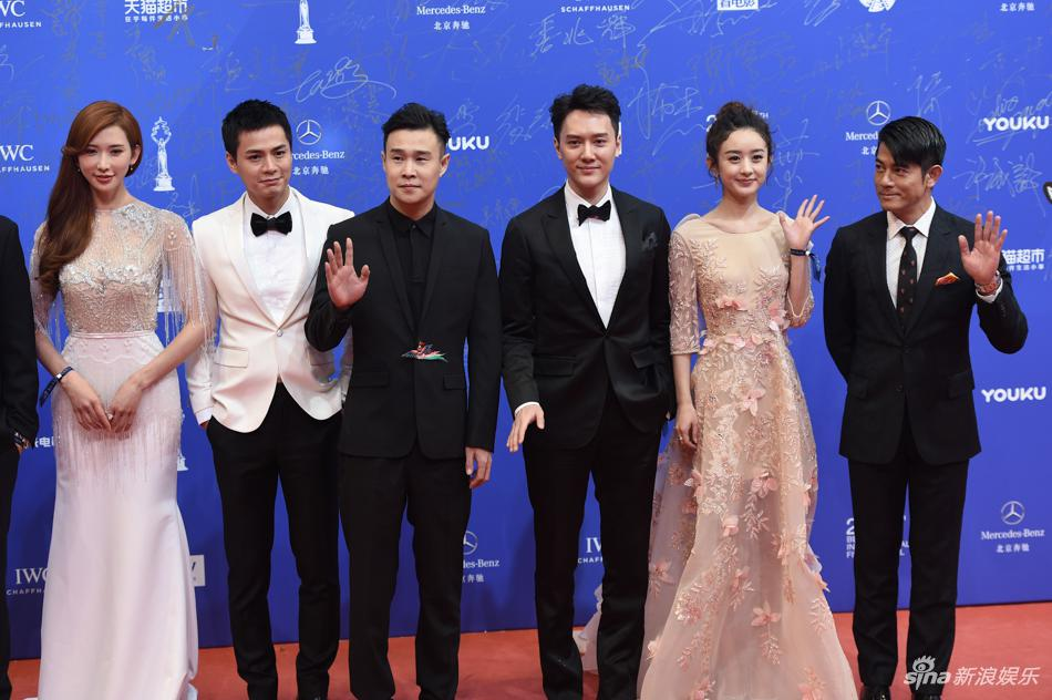 女星红毯美裙斗艳 第七届北京国际电影节开幕式高清组图