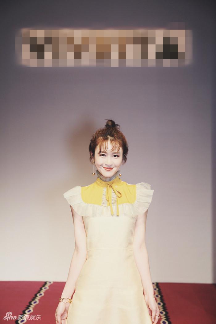 林伊婷现身中国国际时装周 时尚首秀清新甜美图片