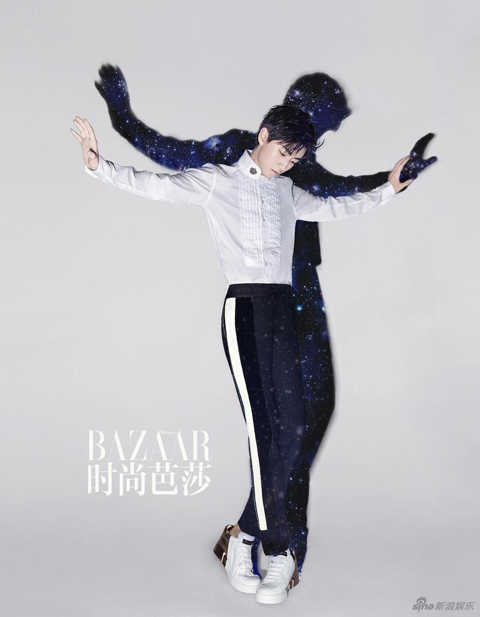 《时尚芭莎》九月刊慈善双封,成为首次拿下时尚五大刊金九单人封