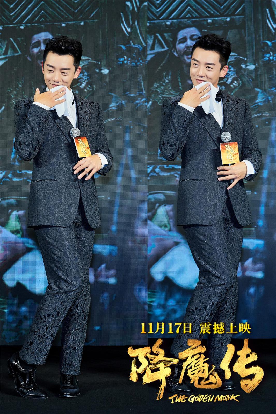 甄琪、王馨瑶,歌手胡杨林、丁丁均盛装出席,不仅与大家分享电影
