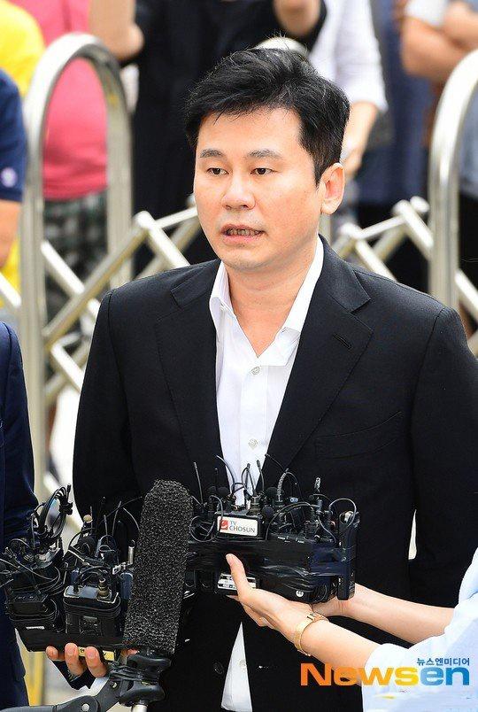 前YG娛樂公司代表樑鉉錫