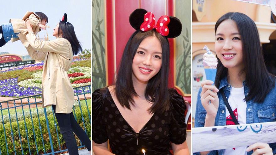 世姐张梓琳携女儿庆生 34岁辣妈美出少女feel