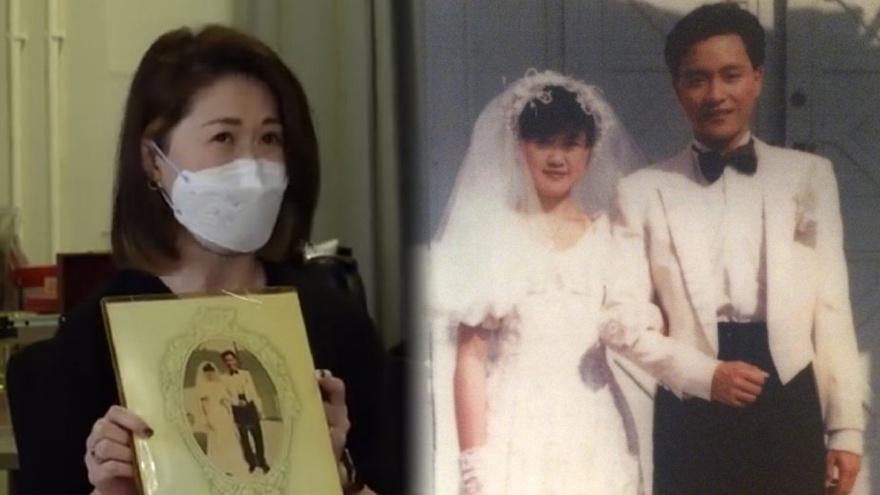 """张国荣逝世18周年之际 歌迷分享和""""哥哥""""当年拍的婚纱照"""