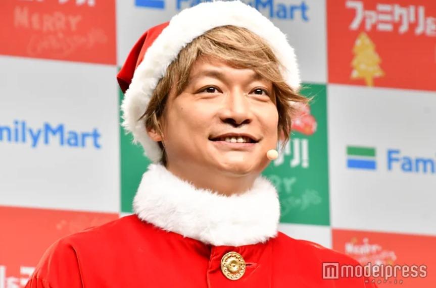 香取慎吾扮圣诞老人 称圣诞节想与老婆孩子一起过