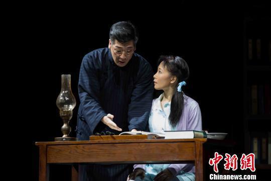 民族歌剧《呦呦鹿鸣》北京演出 吕薇演绎屠呦呦