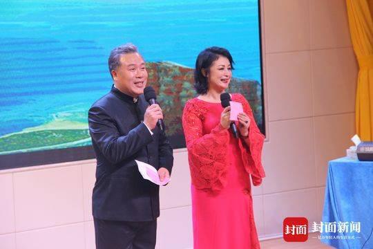 于月仙和搭档魏瑞峰主持很精彩!