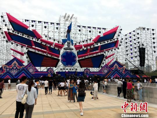 2018彩鹭音乐节30日在厦门集美举办。 杨伏山 摄
