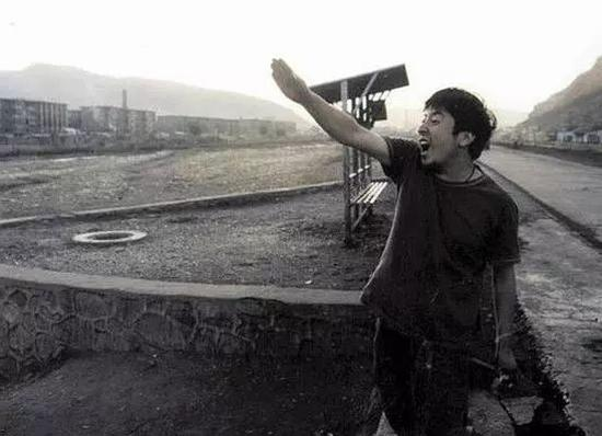 年轻时的贾樟柯