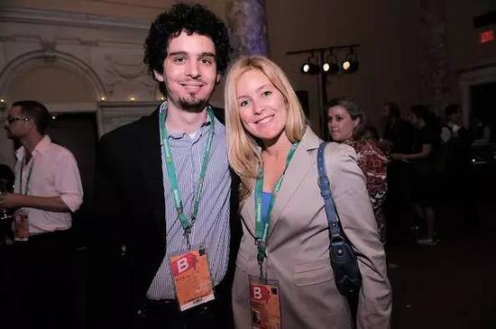 《爱乐之城》导演达米恩和他的前妻贾斯敏
