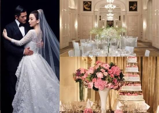 郭富城豪掷百万举行婚礼