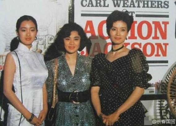 巩俐、张艾嘉、潘虹29年前出席戛纳