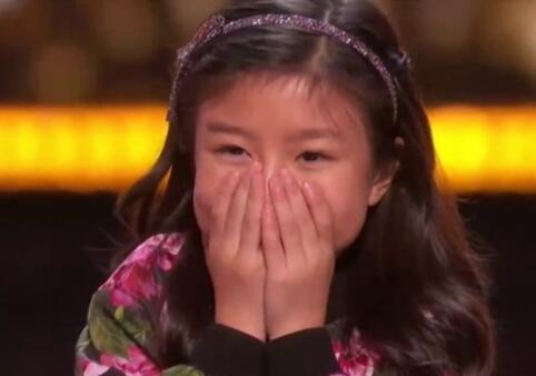 厉害!9岁中国女童晋级《美国达人》22强准决赛
