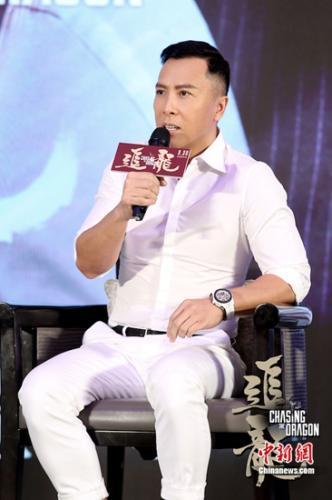 甄子丹出演反派入戏太深:非常痛苦 不会再演