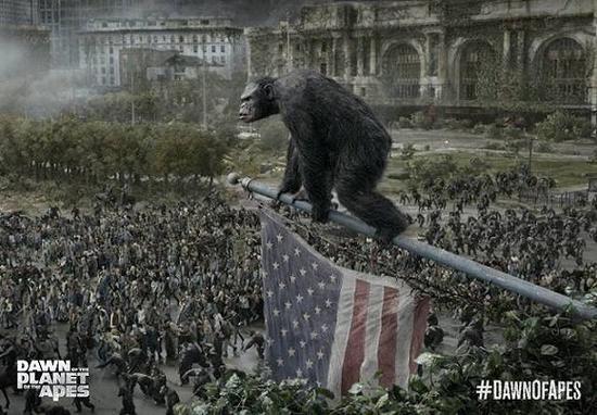 《猩球崛起2:黎明之战》