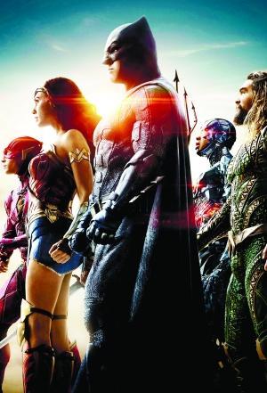 《正义联盟》1117上映 5位超级英雄将来北京