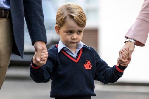 初入学校的乔治小王子