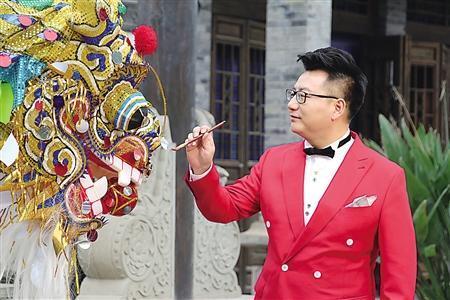 《中华龙舞起来》MV开拍 向世界传播中华龙文化