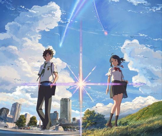 《你的名字。》票房5.75億元,是引進日本影片的票房冠軍