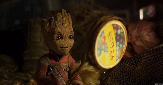 《银河护卫队2》幼格鲁特
