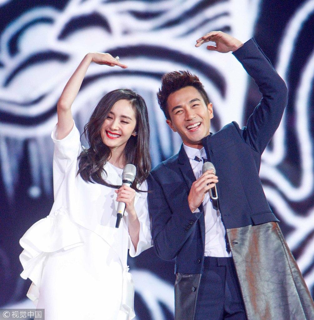 2014湖南卫视跨年晚会。图/视觉中国