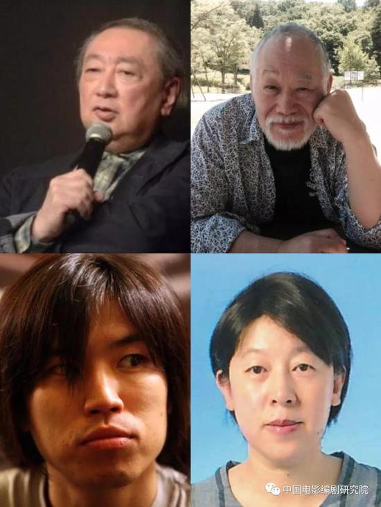 图为日本剧作家代表照片组图