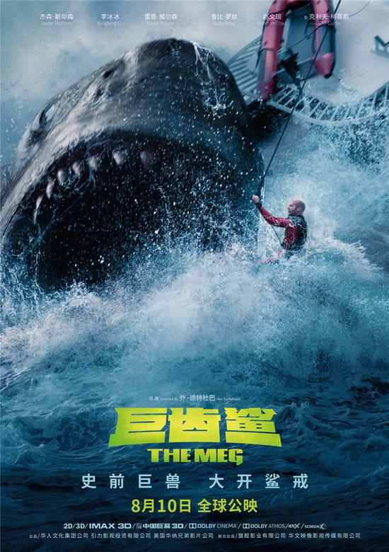 合拍片≠失败 中国制片人揭秘《巨齿鲨》背后故事