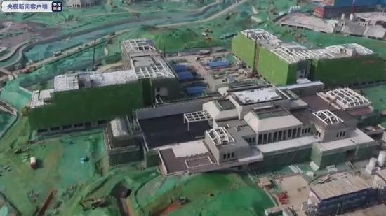 北京环球度假区明年开放 一期工程进入设备调试