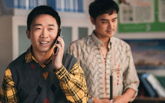 喜劇演員楊迪在《演員請就位》中的表演獲得認可 圖片來自網絡