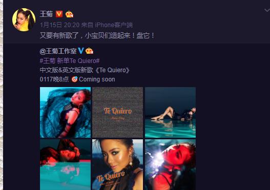 《创作发明101》开场后,王菊颁布发表了几首新歌。