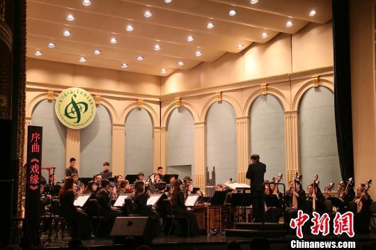 4月30日晚,上海文广民族乐团品牌力作《春和景明——戏曲音乐作品音乐会》在上海音乐厅隆重上演。上海文广民族乐团 供图