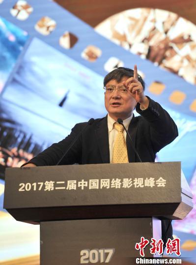 图为浙江大学党委副书记郑强发言 胡哲斐 摄