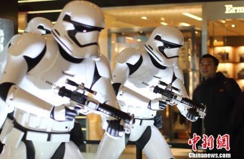 资料图:星战系列对中国年轻观众而言还比较陌生。泱波 摄