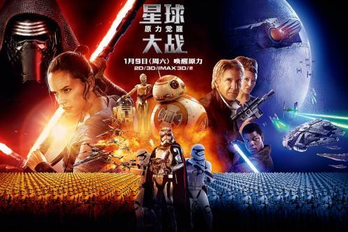 《星球大战:原力觉醒》电影海报