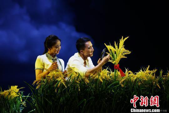袁隆平艺术形象首现舞台 同名音乐剧首登北京