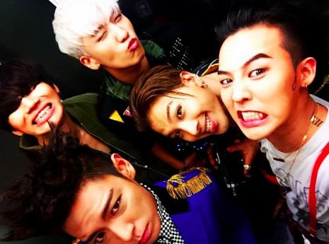 BIGBANG的G-Dragon、太陽、大聲預計在2019年退伍