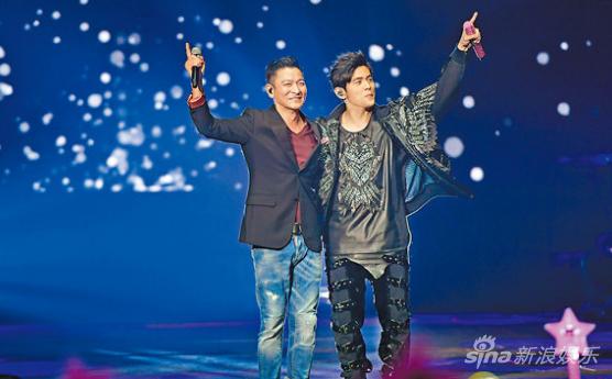 周杰伦与刘德华首次同台演出,让演唱会惊喜度爆表