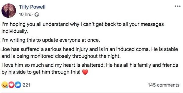 《速激9》演员坠楼原因曝光 妻悲痛发文称心碎了