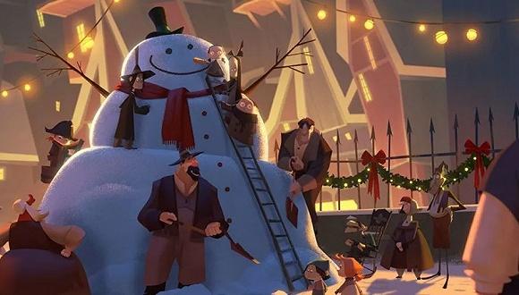 《克劳斯:圣诞节的秘密》官方剧照