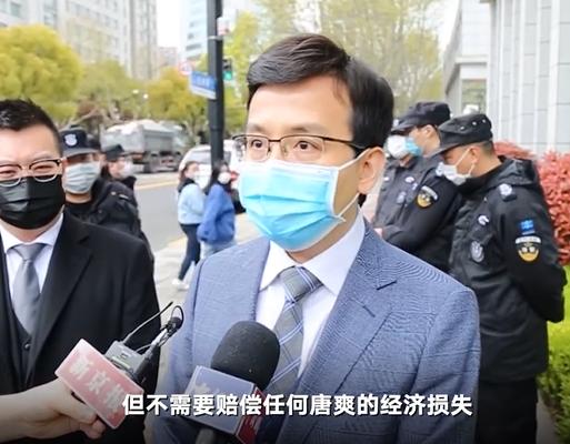 周立波代理律师屠磊接受采访