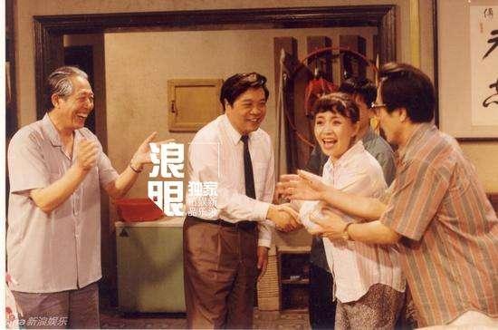 赵忠祥出演《我爱我家》