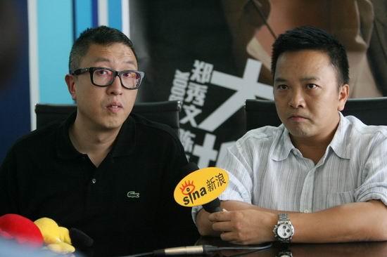 麦兆辉(右)与庄文强