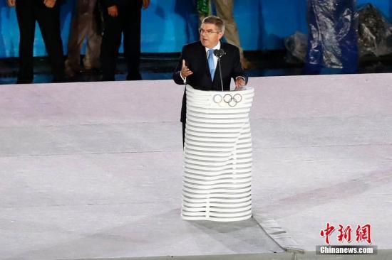 资料图:国际奥委会主席巴赫。中新网记者 富田 摄