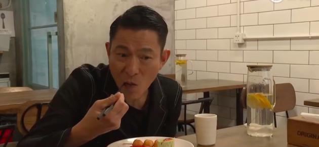 刘德华自曝坚持素食六年